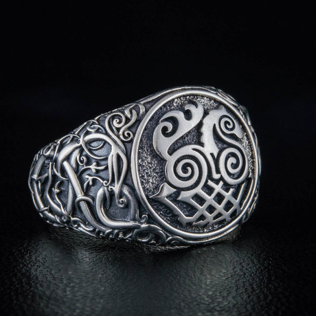 Viking Collection // Urnes Ornament + Sleipnir Ring (5)