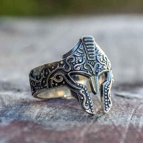 Viking Collection // Spartan Helmet Ring (5)