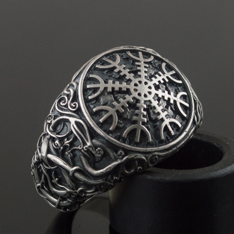 Viking Collection // Urnes Ornament + Aegishjalmur Ring (5)