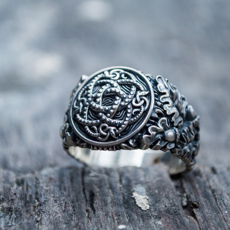 Viking Collection // Oak Leaves + Jormungandr Ring (5)