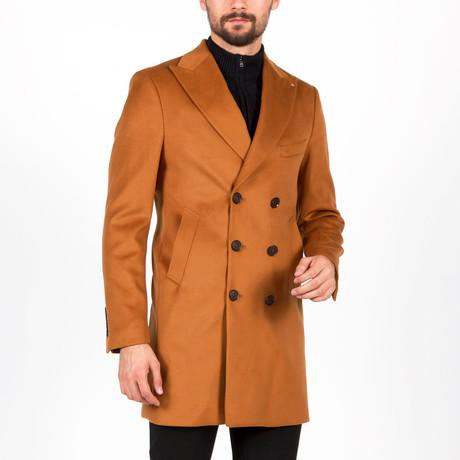 Kennedy Wool Coat // Camel (Euro: 46)