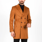 Kennedy Wool Coat // Camel (Euro: 52)