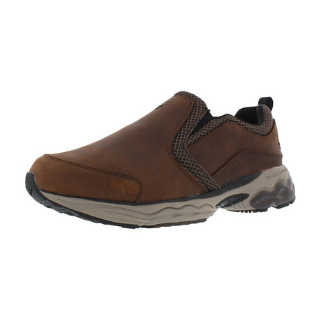 Taurus Leather Moc // Brown // Extra Wide (US: 7)