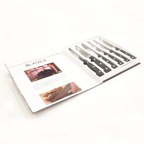 BLADES by Rick Moonen // 6 Piece Steak Knife Set