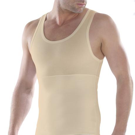 Men's Shapewear Tank Top // Nude (XS)