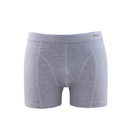 Men's Boxers V2 // Gray Melange (XS)
