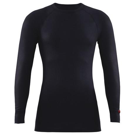 Unisex Long Sleeve T-Shirt // Black (XS)