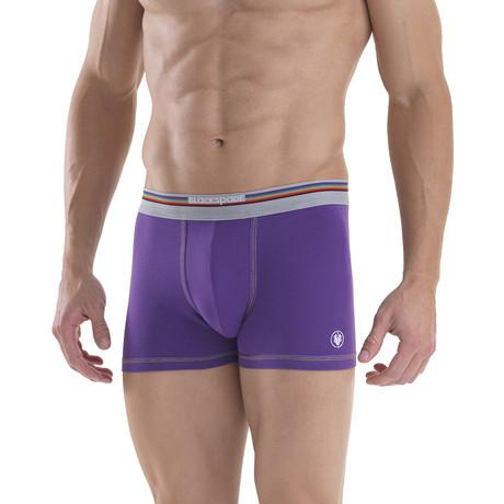 Men's Boxers // Purple (XS)