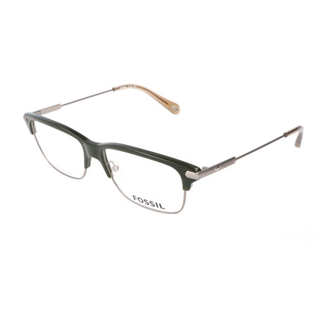 Men's 60 OIZ Optical Frames // Ruthenium Green