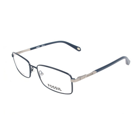 Men's 6062 OKB Optical Frames // Matte Blue + Dark Blue