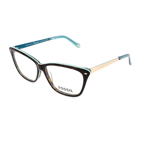 Women's 6031 UIF Optical Frames // Havana Turquoise + Light Matte Havana