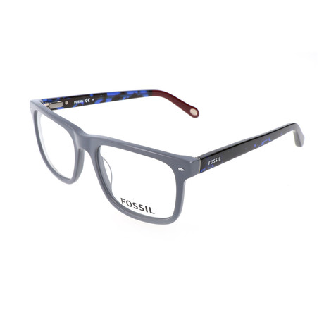 Men's 6070 RSP Optical Frames // Metallic Gray + Blue Havana
