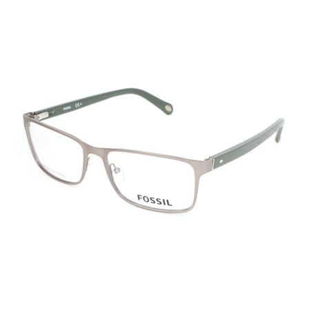 Men's 6038 HGI Optical Frames // Matte Dark Ruthenium + Green Light Gray