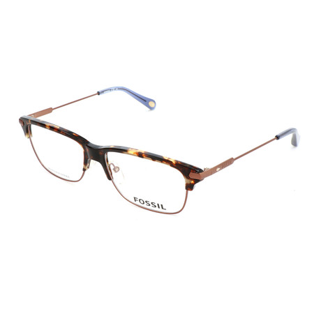 Men's 60 OIS Optical Frames // Matte Brown Havana