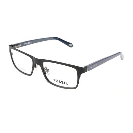 Men's 6069 ME7 Optical Frames // Matte Black + Gray