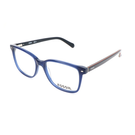 Men's 6037 HIZ Optical Frames // Matte Blue + Navy Brick