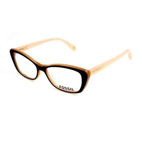 Women's 6057 OLN Optical Frames // Peach Opal Pink
