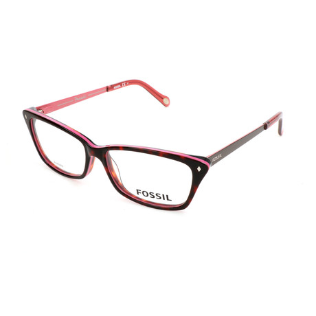 Women's 6030 32J Optical Frames // Havana Cyclamen + Havana Brown