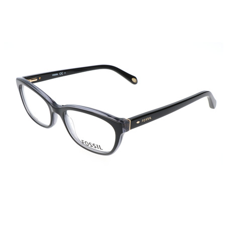 Women's 6058 OLF Optical Frames // Black + Gray