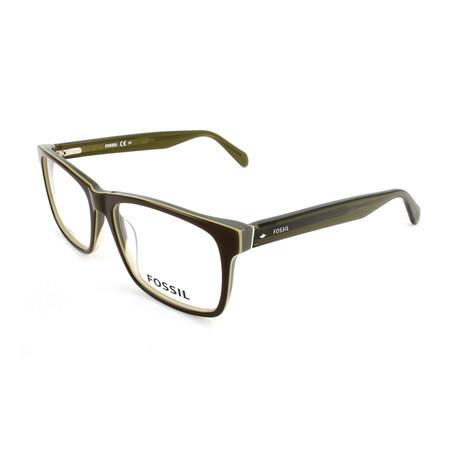 Men's 7013 4C3 Optical Frames // Olive