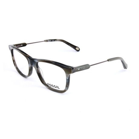 Men's 6079 Y9Z Optical Frames // Gray Horn + Ruthenium