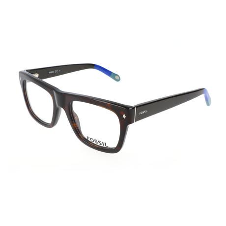 Men's 6029 GXC Optical Frames // Dark Havana Brown + Blue Gray