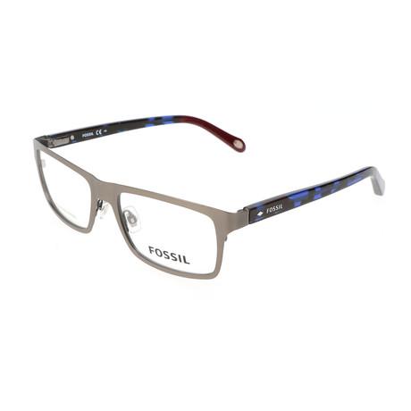 Men's 6069 RTW Optical Frames // Ruthenium + Havana Blue