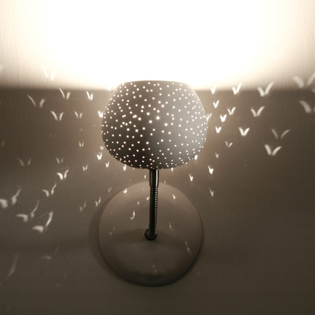 Claylight Sconce // Dots