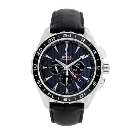 Omega Seamaster Aqua Terra GMT Chronograph Automatic // Pre-Owned