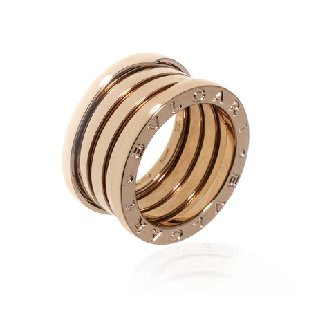 Bulgari B Zero 18k Rose Gold Band Ring // Ring Size: 6
