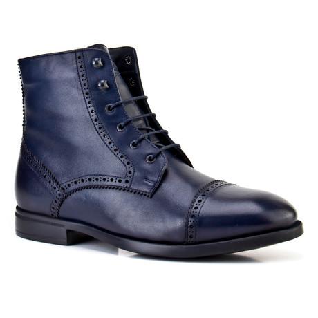 Gideon Boots // Navy Blue (Euro: 39)