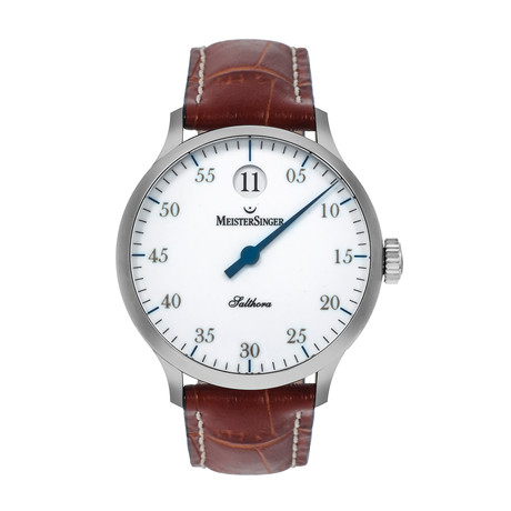 Meistersinger Salthora Jump Hour Automatic // SH901G // Store Display
