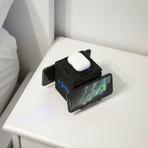 Hypercube Wireless 5 Panel // Cube + 60W PD Adapter + Travel Case (Black)