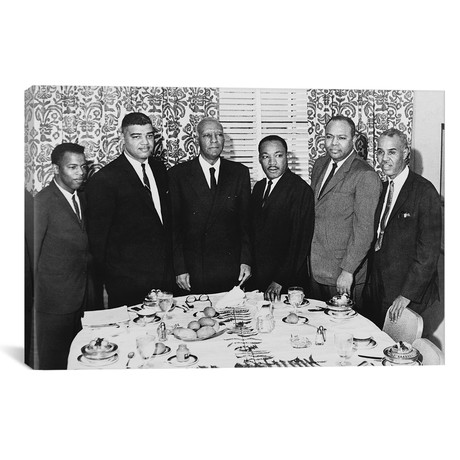 "Civil Rights Leaders, 1963 // Unknown (18""W x 12""H x 0.75""D)"