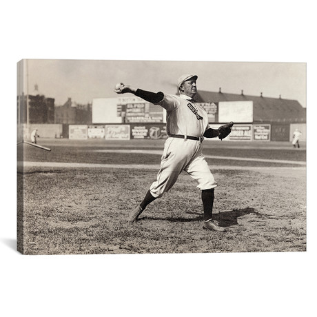 "Cy Young (1867-1955) // Unknown (18""W x 12""H x 0.75""D)"