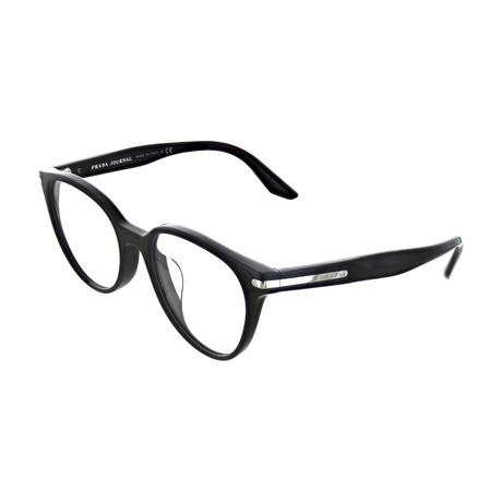 Prada // Men's Square Optical Frames V2 // Black