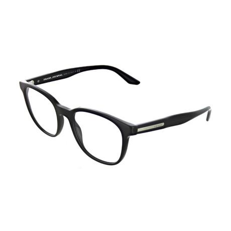 Prada // Men's Square Optical Frames V1 // Black