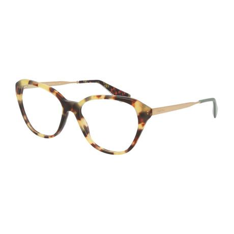 Prada // Women's Tortoise Square Optical Frames V3 // Brown