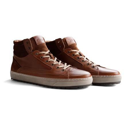 Men's Harrison Sneaker // Cognac (Euro: 40)