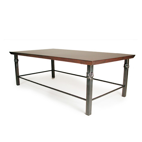 """Temple Coffee Table // 20"""""""