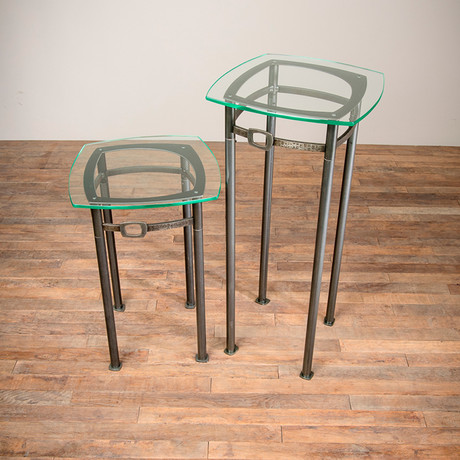 """Modular Occasional Table Set // 24"""" to 34"""""""