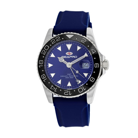 Seapro Agent GMT Quartz // SP0125