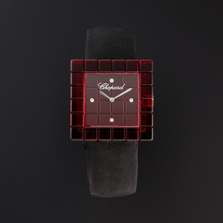Chopard Ladies Ice Cube Be Mad Quartz // 2147963 // Pre-Owned