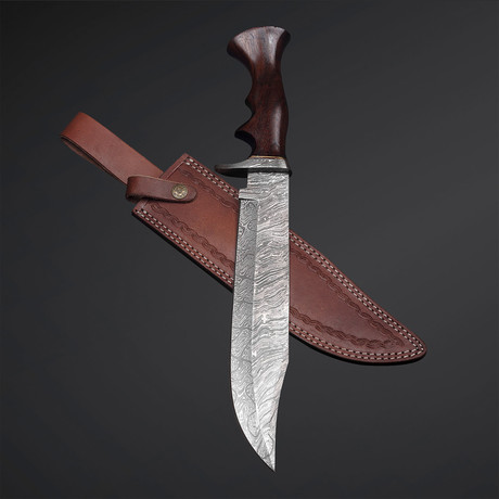 Rose Wood Bowie Knife // 11
