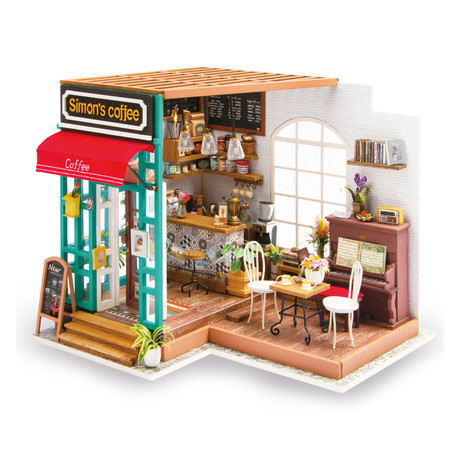 DIY Miniature House // Coffee Shop