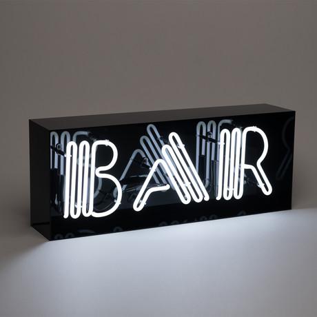 Bar Acrylic Box Neon Light