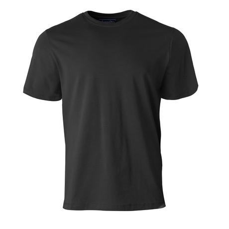 Short-Sleeve Crew Basic Tee // Black (S)