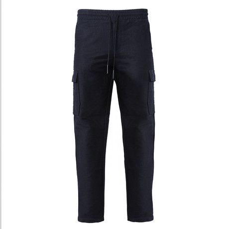 Woven Cargo Draw Pant // Navy (S)