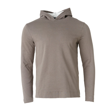 Long-Sleeve Double Layer Tee // Charcoal (S)