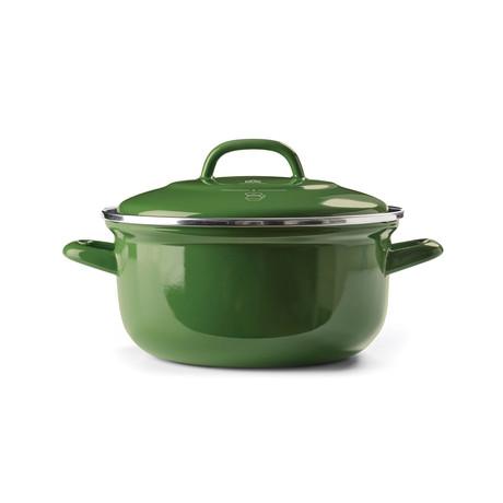 BK Dutch Oven // Green (2.5qt)